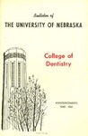 Bulletin of the College of Dentistry, 1960-1961 by University of Nebraska