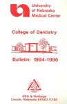 Bulletin of the College of Dentistry, 1994-1996