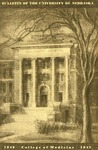 Bulletin of the University of Nebraska: Annual Catalog of the College of Medicine, 1946-1947