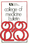 Bulletin of the University of Nebraska: Annual Catalog of the College of Medicine, 1982-1983