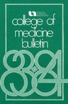 Bulletin of the University of Nebraska: Annual Catalog of the College of Medicine, 1983-1984