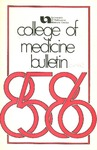 Bulletin of the University of Nebraska: Annual Catalog of the College of Medicine, 1985-1986