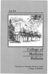 Bulletin of the University of Nebraska: Annual Catalog of the College of Medicine, 1993-1994