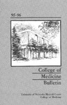 Bulletin of the University of Nebraska: Annual Catalog of the College of Medicine, 1995-1996