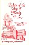 Bulletin of the College of Nursing, 1980-1982