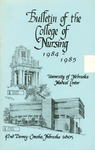Bulletin of the College of Nursing, 1984-1985