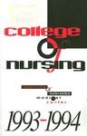 Bulletin of the College of Nursing, 1993-1994