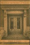 Bulletin of the School of Nursing, 1943-1944
