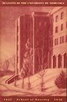 Bulletin of the School of Nursing, 1947-1948