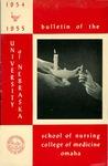 Bulletin of the School of Nursing, 1954-1955