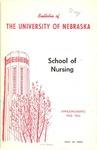 Bulletin of the School of Nursing, 1963-1964