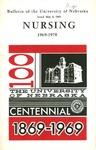 Bulletin of the School of Nursing, 1969-1970