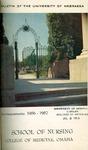 Bulletin of the School of Nursing, 1956-1957