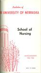 Bulletin of the School of Nursing, 1965-1966