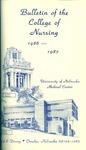 Bulletin of the College of Nursing, 1986-1987