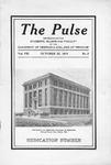 The Pulse, Volume 08, No. 2, 1913 by University of Nebraska College of Medicine