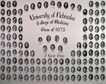 University of Nebraska College of Medicine Class of 1975 (3 Year)