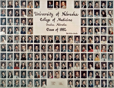 University Of Nebraska College Of Medicine Class Of 1982