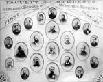 Nebraska School of Medicine, Preparatory, Class of 1880, 1881