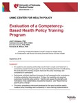 Evaluation of a Competency-Based Health Policy Training Program