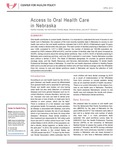 Access to Oral Health Care in Nebraska