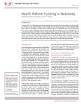 Health Reform Funding in Nebraska