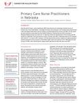 Primary Care Nurse Practitioners in Nebraska
