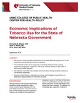 Economic Implications of Tobacco Use for the State of Nebraska Government