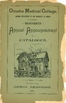 Eleventh Annual Annoucement and Catalogue Session 1891-1892 by Omaha Medical College