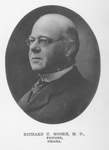 Richard C. Moore, M.D. (1841-1916) by Omaha Medical College