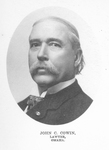 John C. Cowin (1846-1918) by Omaha Medical College