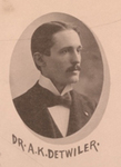 Augustus K. Detwiler, M.D. by Omaha Medical College