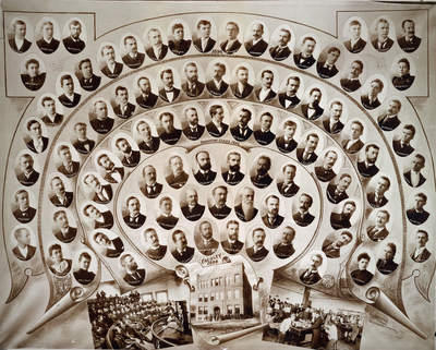 Omaha Medical College Class of 1894, 1895, 1896