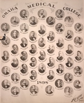 Omaha Medical College Class of 1898 by Omaha Medical College