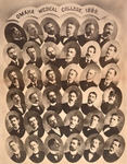 Omaha Medical College Class of 1899 by Omaha Medical College