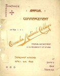 Fourteenth Annual Commencement of the Omaha Medical College
