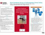 Nurse Practitioner Survey on Cardiorespiratory Fitness Testing by Ashtyn Keezer and Sheri Rowland