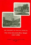 The University of Nebraska Hospital, The First Seventy-Five Years, 1917-1992 by F Miles Skultety