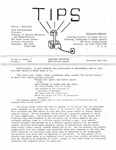 TIPS, Volume 06, No. 3, 1986