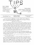TIPS, Volume 09, No. 3 & 4, 1989