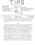TIPS, Volume 10, No. 3 & 4, 1990