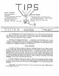 TIPS, Volume 16, No. 2, 3 & 4, 1996