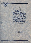 College of Pharmacy Yearbook, 1919
