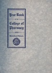College of Pharmacy Yearbook, 1920